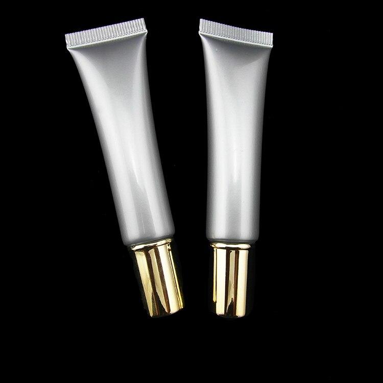 wholesale 100pcs lot 15 ml vazio tubo macio tubo vazio cosmeticos creme para os olhos tubo