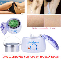 100% Brand New Waxing Heater Hair Removal Hot Paraffin Wax Warmer Heater Pot Machine Depilatory Hard Wax Bean Body Leg Waxing Health & Beauty