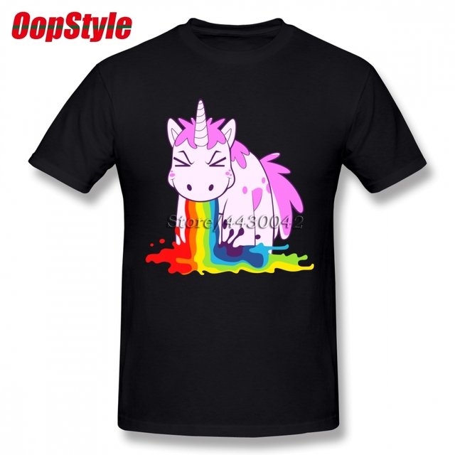 Unicorn Rainbow Tshirt Men...