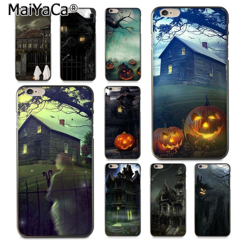 Maiyaca дом с привидениями Live ТВ серии дизайн моды кожа тонкий ПК cell чехол для iphone 8 7 6 6 S плюс x 10 5 5S SE 5C Coque В виде ракушки