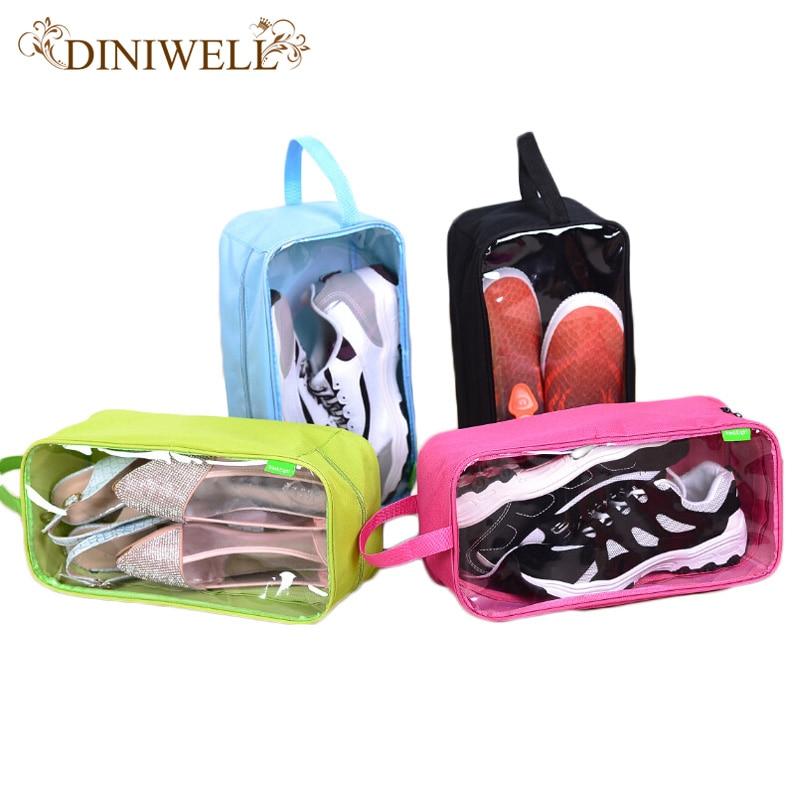 DINIWELL Travel Ūdensnecaurlaidīgi apavi Storage Bag Portable Āra - Mājas uzglabāšana un organizēšana