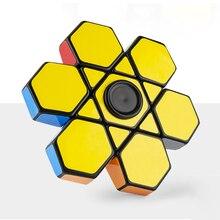 Профессиональный Finger Floppy 3d куб Rubike куб антистресс головоломка кубик-Спиннер игрушки для детей креативная волшебная игрушка игра
