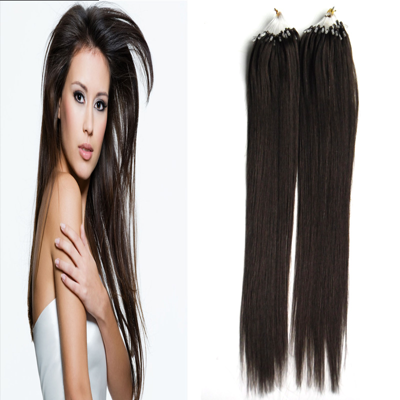 Brazilian remy micro bead hair extensions 200g 200s hair extension brazilian remy micro bead hair extensions 200g 200s hair extension micro rings 2 darkest brown micro link hair extensions human on aliexpress alibaba pmusecretfo Gallery