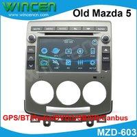 7 автомобильный DVD gps плеер для старая Mazda 5 Встроенный gps BT Радио DVD Бесплатная доставка и Карта
