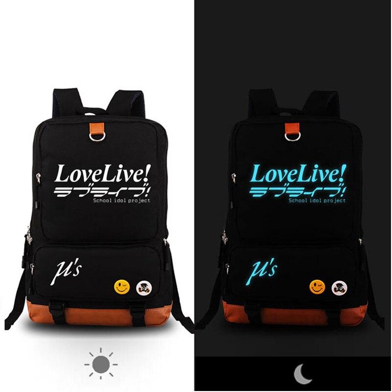 lovelive Anime backpack student school bag Notebook backpack Daily backpack