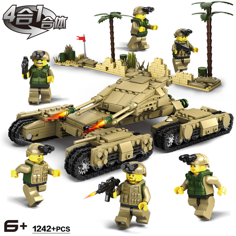 Model Building Trend Mark World War Ii Ww2 Swat Military Series Panzerkampfwagen Iv Tank Building Blocks Brickstoys For Children Compatible With Lego Toys & Hobbies
