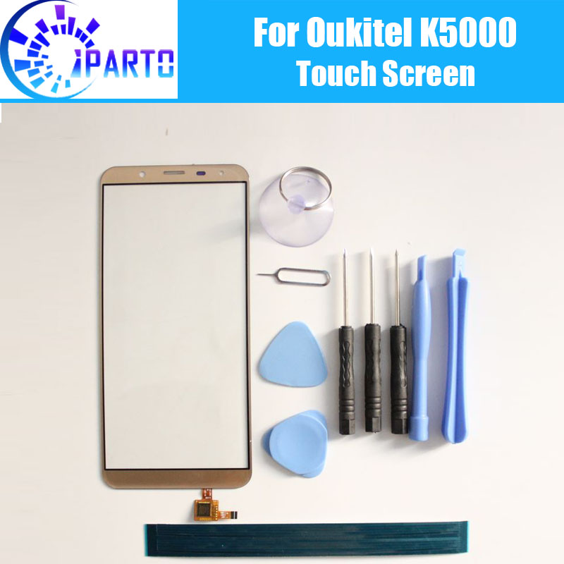 Oukitel K5000 Touch Screen Glass 100% Guarantee Original Digitizer Glass Panel Touch Replacement For Oukitel K5000