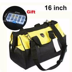 High quality 16 hardware mechanic s handbags telecom tool bag electrician repair toolkit shoulder bag for.jpg 250x250