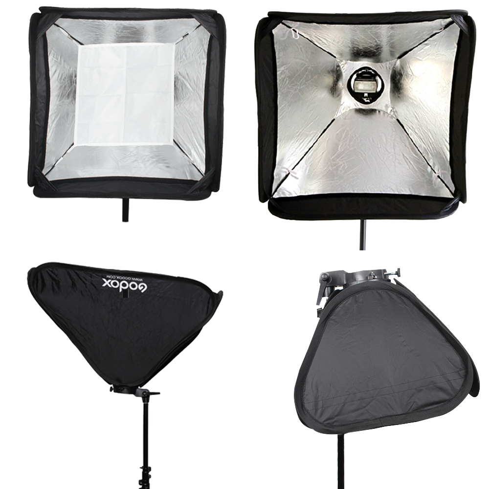 Flashbox Softbox rregullues Godox 50 * 50cm / 50cm * 50cm 20