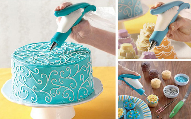 Online Shop Professional Plastic Cake Nozzle Fondant Sugar Craft ...