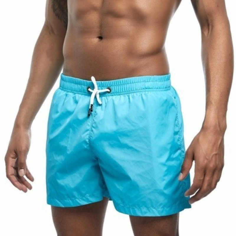 9f8a3f1df33 Quick Dry Swim Shorts Men Swimwear Mens Swimming Shorts Trunks Beach Board  Surf Boardshorts Bathing Suit