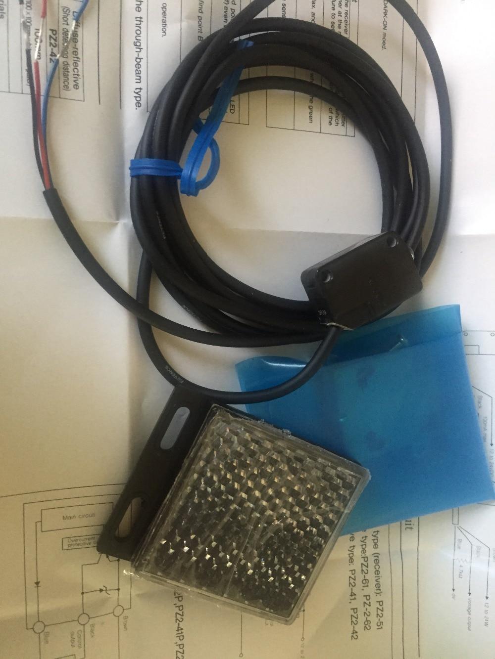 Pz2 имеют-61 работа keyence фотоэлектрический датчик
