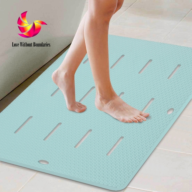 High Quality Bathroom Non Slip Mat Toilet Door Mat Large Shower Bath Mat Non  Slip Furniture