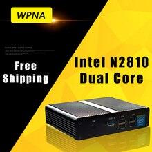 Ргнс неттоп N1 Intel Quad Core N2810 HD Графика 8 ГБ 256 ГБ SSD WI-FI Mini PC Windows офисный компьютер