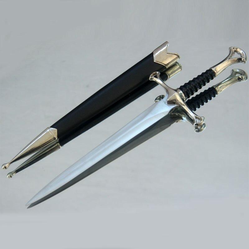 Scripture Edition Lord of the Rings Nasir Elendil Sword,Aragorn Cosplay  Small sword