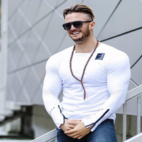 2017 New Men S Fashion Long Sleeved T Shirt Summer Style Thin Shirts Personality Casual Clothing