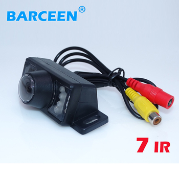 Factory hot sale Car Rearview Camera 170 Degree Angle Night Color LED Sensor Car Rear Reverse View Parking Camera Free Shipping image