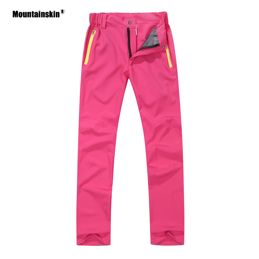 Mountainskin Summer Women's Hiking Pants New Breathable Quick Dry Outdoor Camping Trekking Fishing Sports Female Trousers VB085