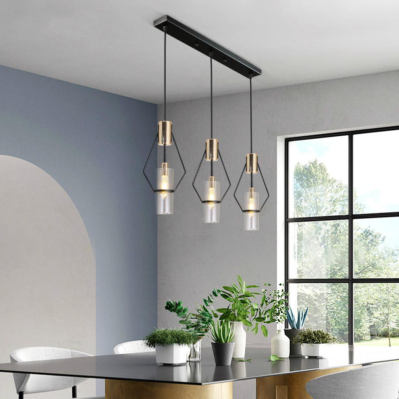 Nordic personality LED pendant lights living room restaurant bedroom lamp glass art gold lamp designer villa model room lamp CL6Nordic personality LED pendant lights living room restaurant bedroom lamp glass art gold lamp designer villa model room lamp CL6