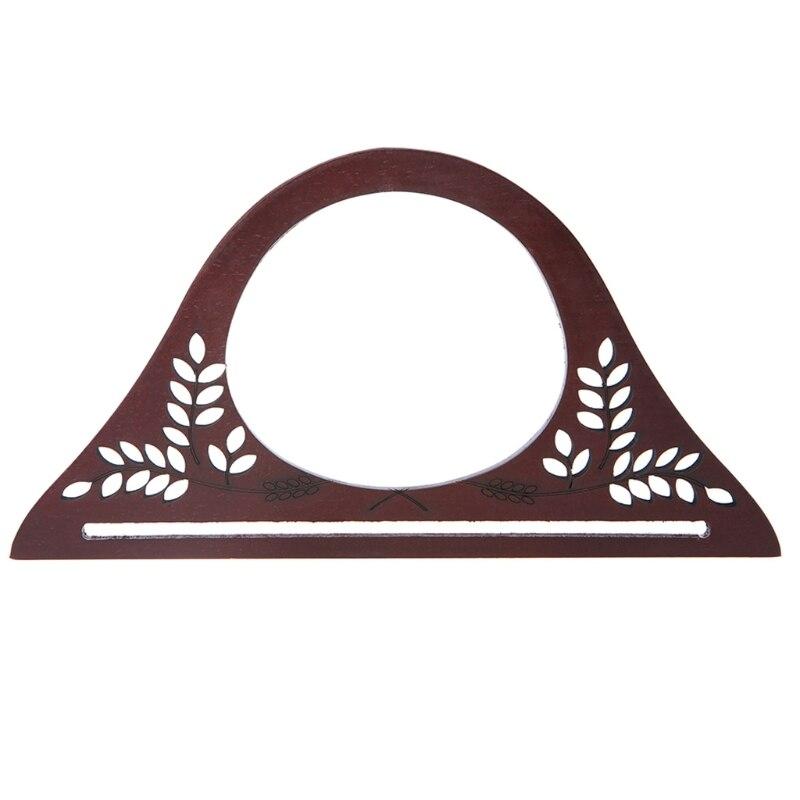 Wood Handle Purse Frame Wooden Bag Handle DIY Handbag AccessoriesWood Handle Purse Frame Wooden Bag Handle DIY Handbag Accessories