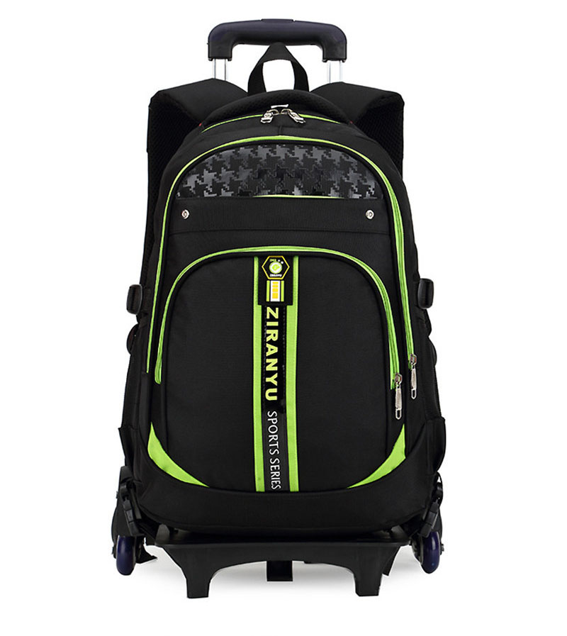 Removable Children School Bags 3 Wheels for boys Girls Trolley school Backpack Kids Wheeled Bag Waterproof Orthopedic School Bag 2016 high quality orthopedic camouflage school bag for boys girls red children waterproof backpack burden school book bags