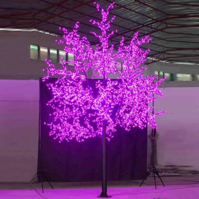 3.5Meter 2880leds outdoor decorations led blossom christmas tree lights  for home garden