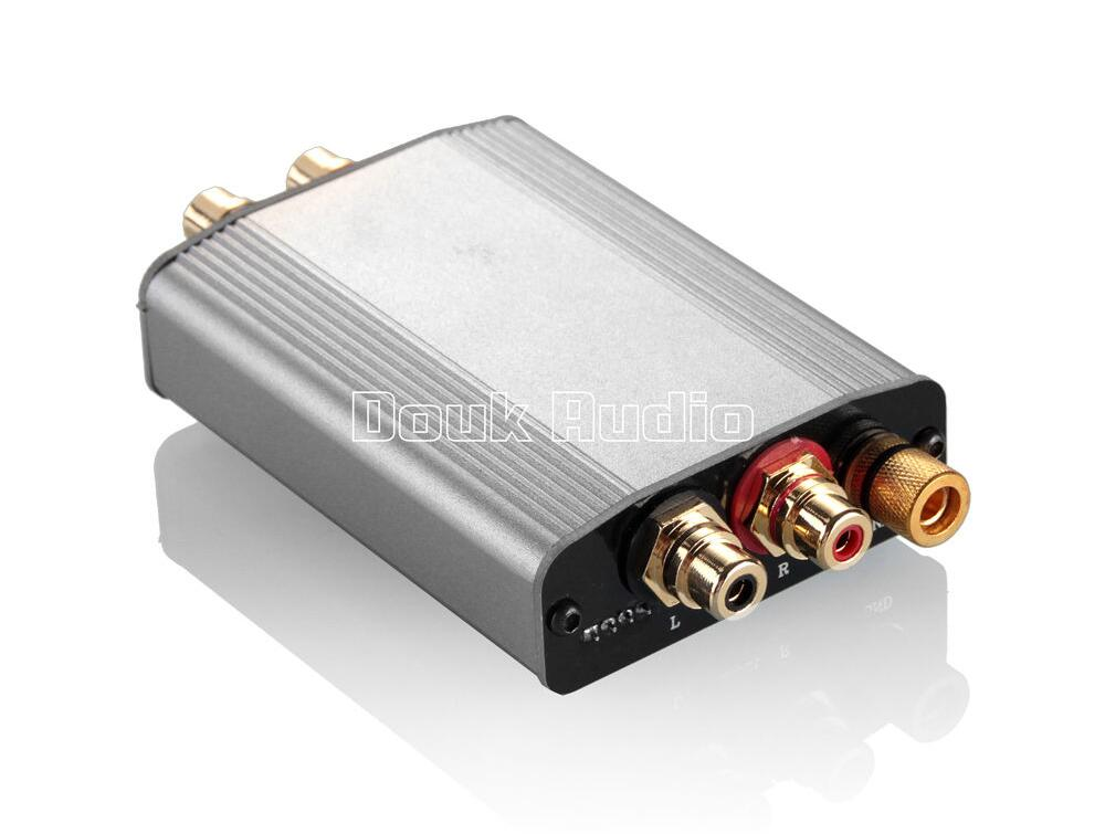 2017 Lastest Douk Audio HiFi Class A Phono Turntable Preamplifier MM RIAA Mini Stereo Preamp Compact Free Shipping 2017 lastest douk audio nobsound ns 02e class a 6n3 vacuum tube amplifier stereo hifi earphone pre amp free shipping