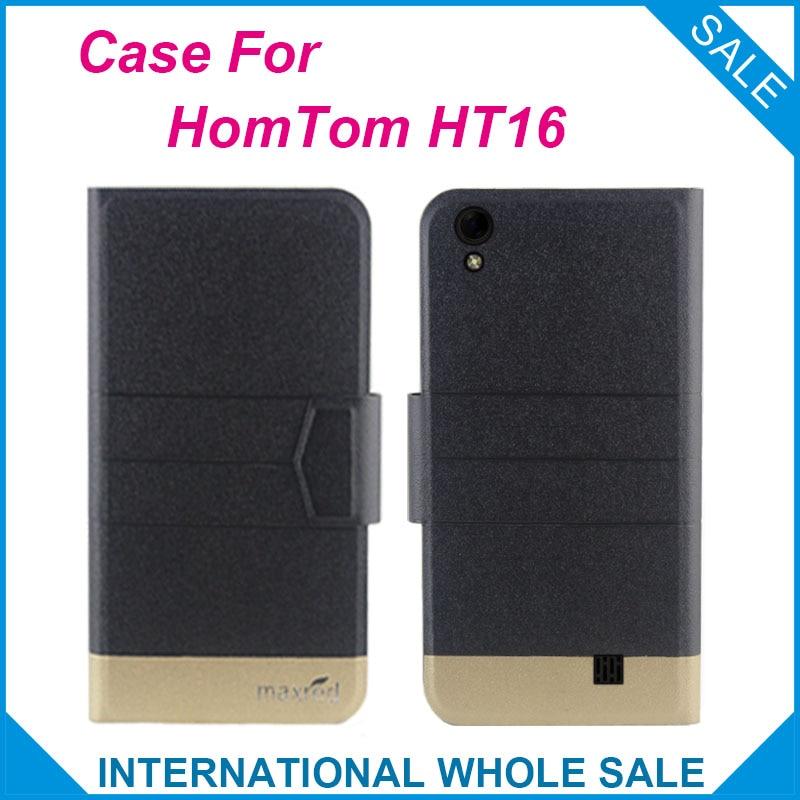 ¡Súper! 2016 HomTom HT16 Case Nueva llegada 5 colores Precio de - Accesorios y repuestos para celulares
