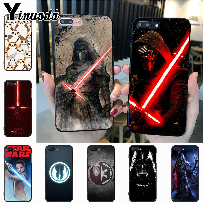 Yinuoda STAR WARS COMIC DARTH VADER YODA Darth VadeR Special Offer phone case for iPhone 7plus X 6 6S 7 8 8Plus 5 5S case image