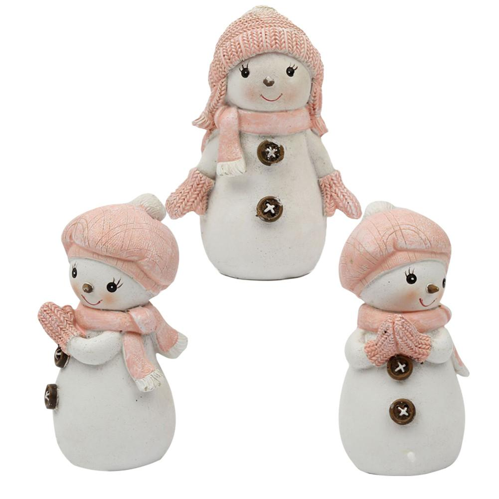 2019 Cake Decorating Mold 3D Christmas Snowman Candle Mould Soap Mold Silicone Mold Doll Children Present Christmas Gifts