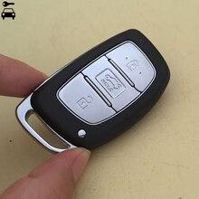 3ปุ่มสมาร์ทคีย์รีโมท Keyless Smart Key FOB 434MHz PCF7945 ID46ชิปสำหรับ Hyundai Elantra Verna อัจฉริยะ remote Key