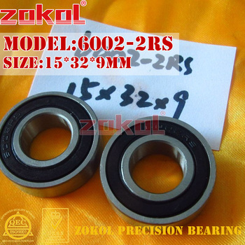 ZOKOL 6002 RS Z3V3 bearing 6002 2RS Z1 6002 ZZ S6002ZZ Deep Groove ball bearing 15*32*9mm image