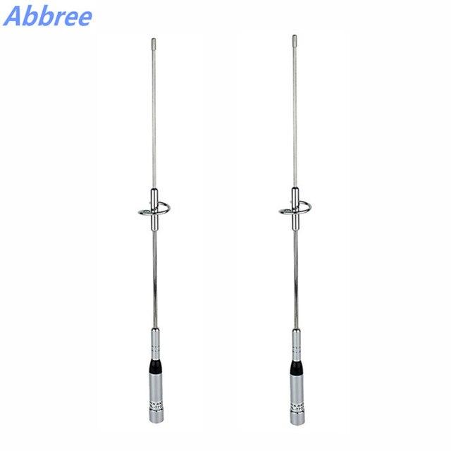 2 או 4 pcs NL-770S Dual Band UHF/VHF 144/430 MHz 150 W 2.15/3.0dBi NL 770 S אנטנה SL16/UHF-J/M סוג עבור רכב רדיו