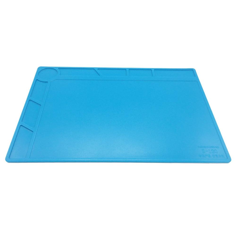 34x23cm con 20 cm scala righello isolamento termico pad in silicone - Set di attrezzi - Fotografia 3