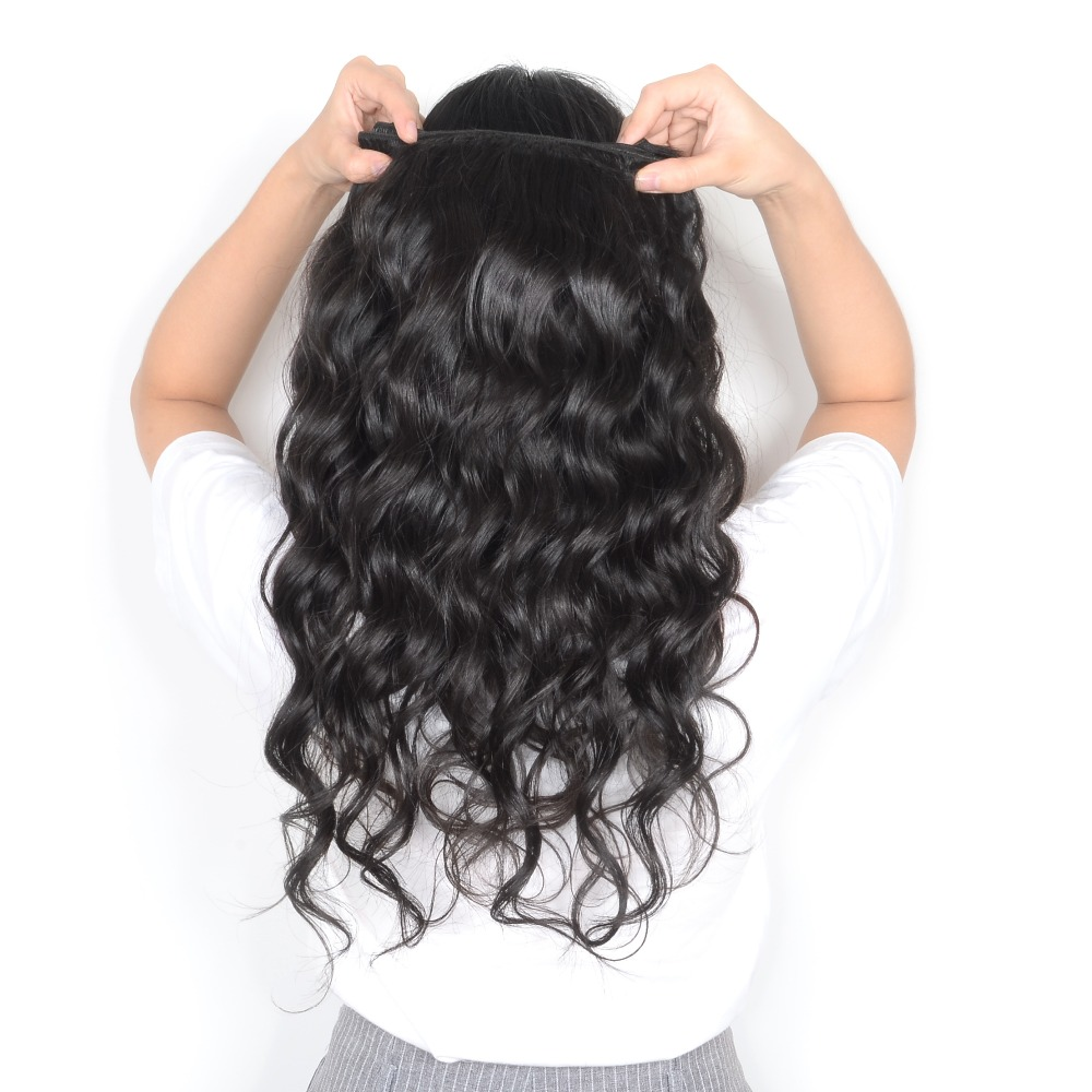 100 Natural Milky Way Wet And Wavy Human Hair Extensions Factory