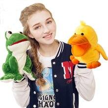 Marionetas de Mano Rana y Pato con Música