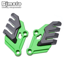 Motorcycle CNC Aluminum Front Brake Disc Caliper Brakecaliper Guard Protector Cover For KAWASAKI Z900 2017-2018 motorcycle brake caliper bracket adapter support for yamaha scooter nmax 155 front brake for original disc for p2 34mm caliper