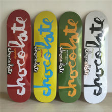 8 inch New Arrived CHocolate Brand Decks Simple logo pattern made by Canadian Maple Wood Shape Skateboard deck for pro SK8ER