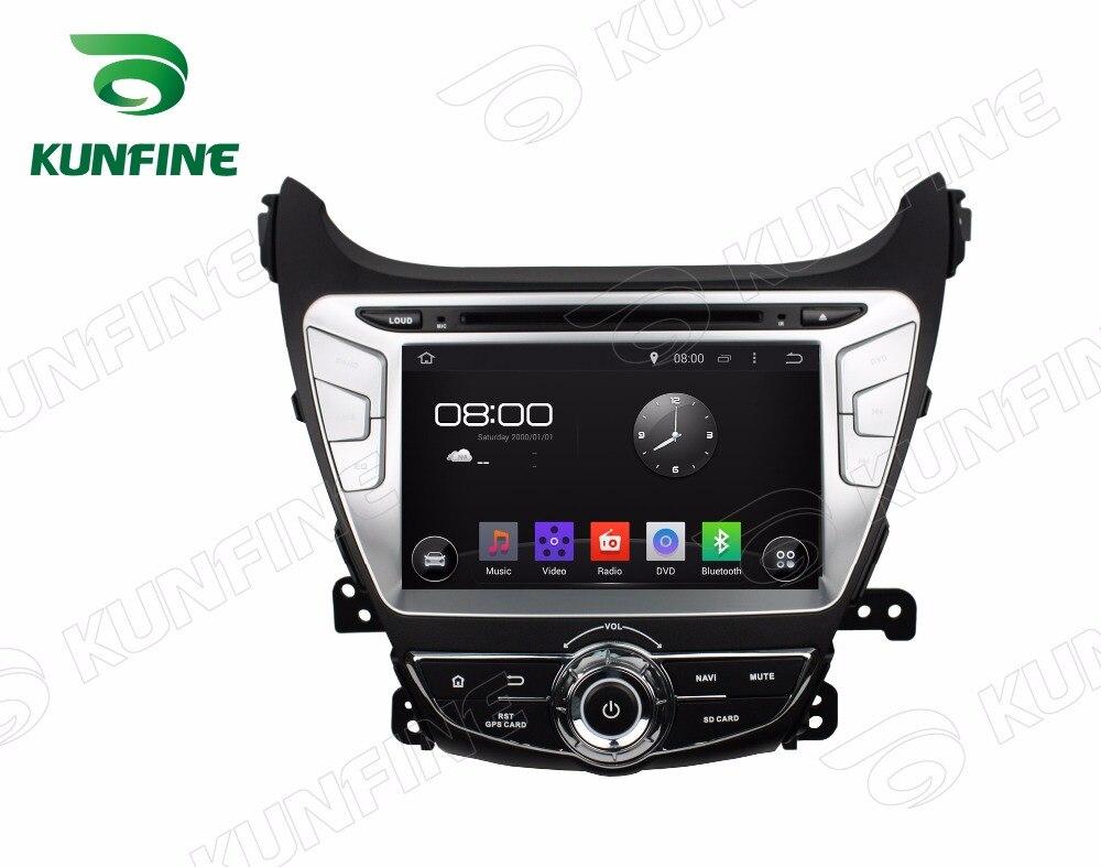 Octa Core 2GB RAM Android 6.0 Car DVD GPS Navigation Multimedia Player Car Stereo for HYUNDAI Elantra 2014 Radio Headunit