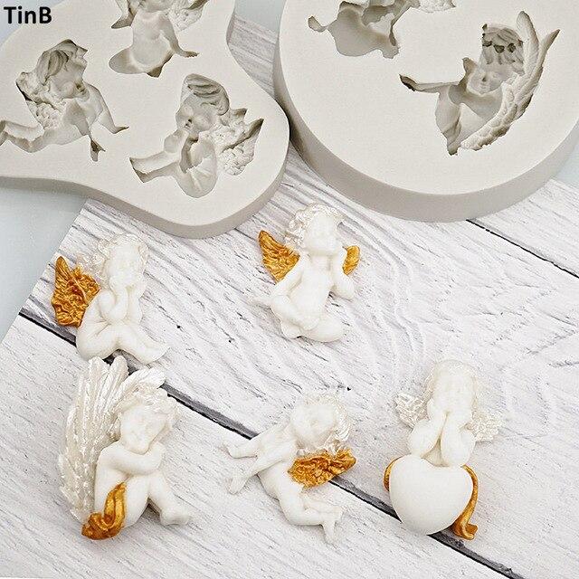 3D детская фотоформа для мастики, инструмент для украшения тортов, аксессуары для кухни, форма для мыла