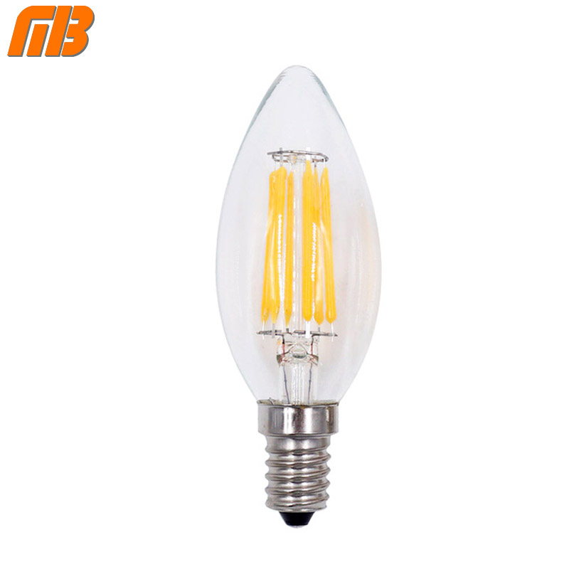 4pcs lot led filament bulb c35s g45 e14 220 230 volt for chandelier crystal light us403. Black Bedroom Furniture Sets. Home Design Ideas