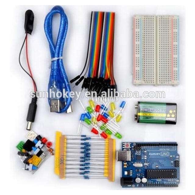 UNO Starter kits for beginners DIY Robot Learning Edition For Arduino