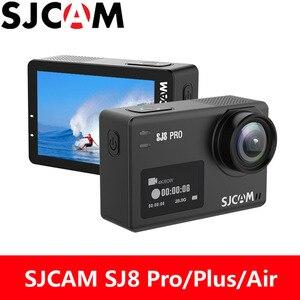 SJCAM SJ8 Pro Action Camera 4K 60FPS WiFi SJ8 Plus Sports DV Diving 30M Waterproof 2.33