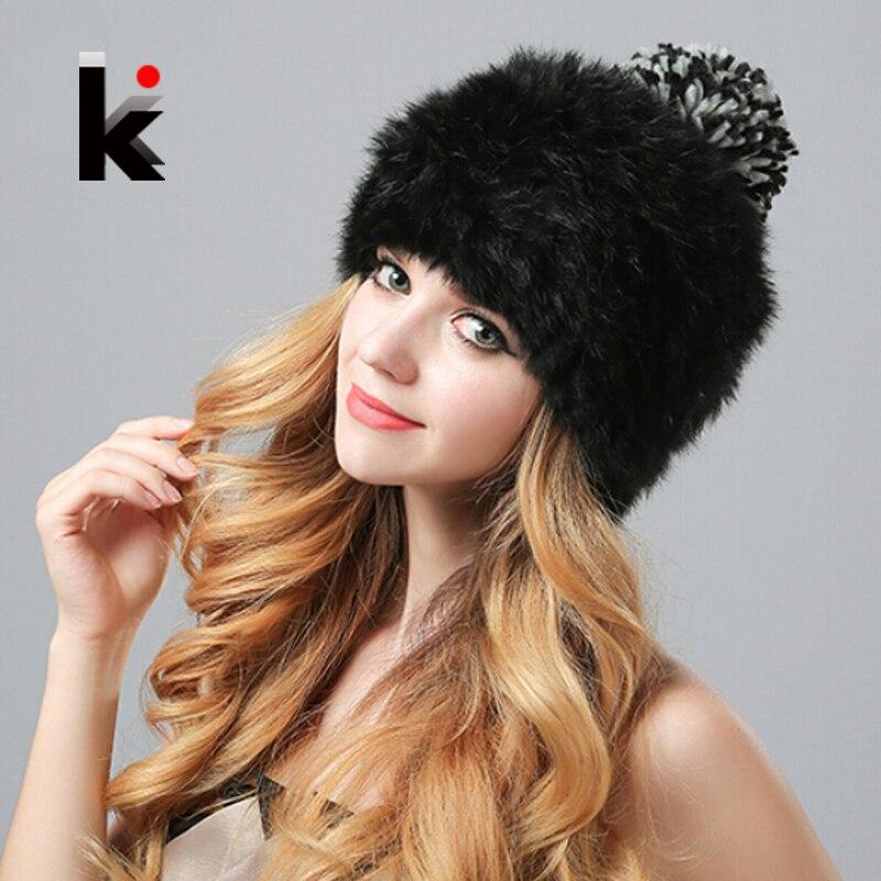 Nature Rex Хутряна шапочка з модною - Аксесуари для одягу