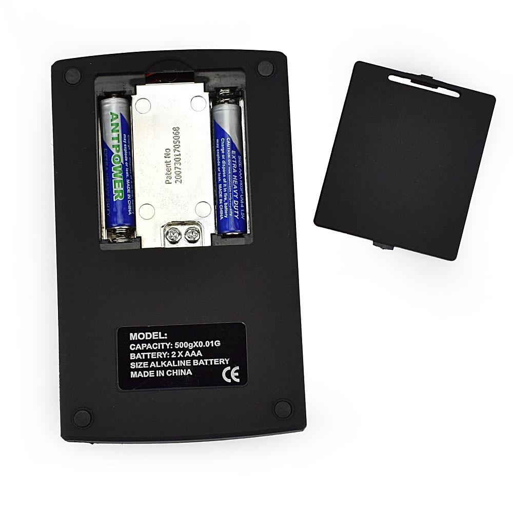 NEWACALOX 500g x 0.01g Básculas digitales de precisión para joyas - Instrumentos de medición - foto 6