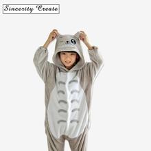 Cute Cartoon Baby Boys Girls Pajamas Kigurumi Panda Flannel Animal Blanket Sleeper cartoon Pajamas for Kids pijamas KU-1523