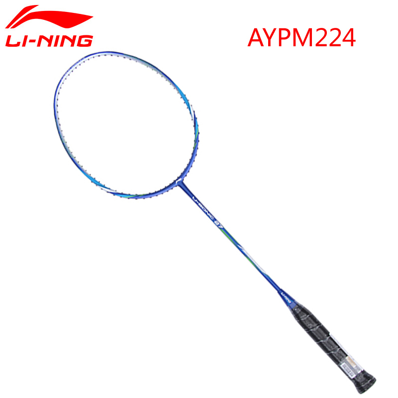 2pcs Top Quality Professional Badminton Racket Li-Ning U-Sonic 17/27/57/67 Carbon Fiber Racket LiNing AYPM226/224/232/228 L773