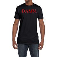 Kendrick Lamar DAMN Logo T Shirt Hip Hop Tee Dr Dre Compton California New