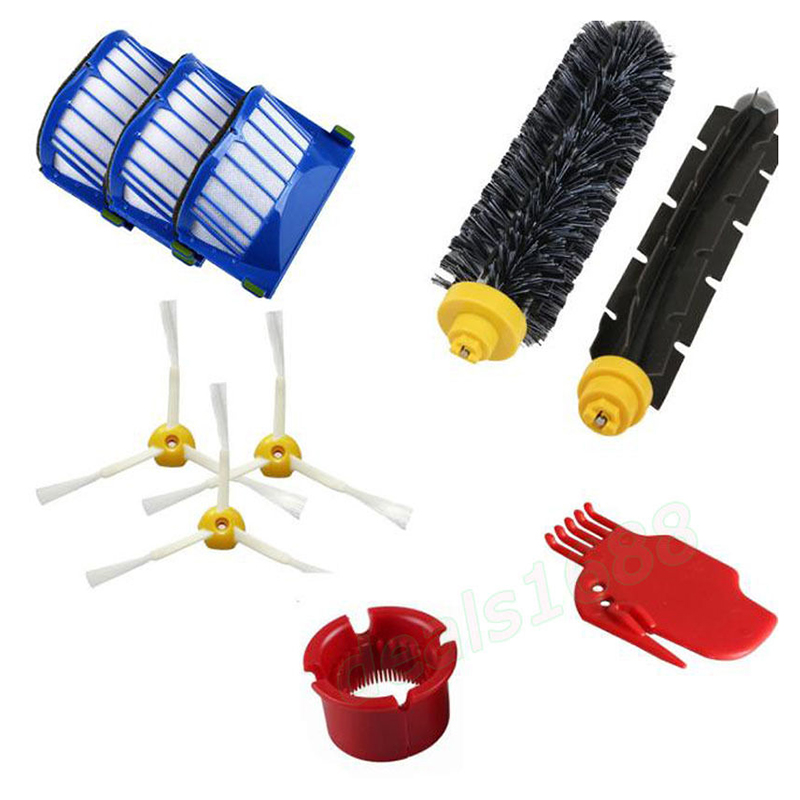 10 pcs Replacement Vacuum Part For Irobot Roomba 600 610 620 650 Series Cleaner
