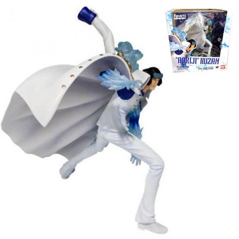 One Piece Anime Marine Aokiji Battle Ver Zero 18cm/7 Figure Free Shipping one piece anime marine akainu sakazuki battle ver 18cm 7 figure free shipping